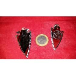 Colgante Flecha Obsidiana