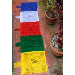 Bandera Oración Vertical Seda