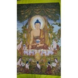 Tela Buda enseñando