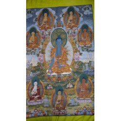 Tela de Familia de Buda de...