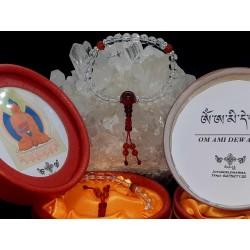 Pulsera mala Amitabha buda...