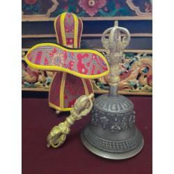 Campana y dorje tibetano...